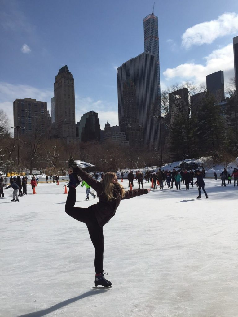 Ice Skating at Wollman Rink in NYC