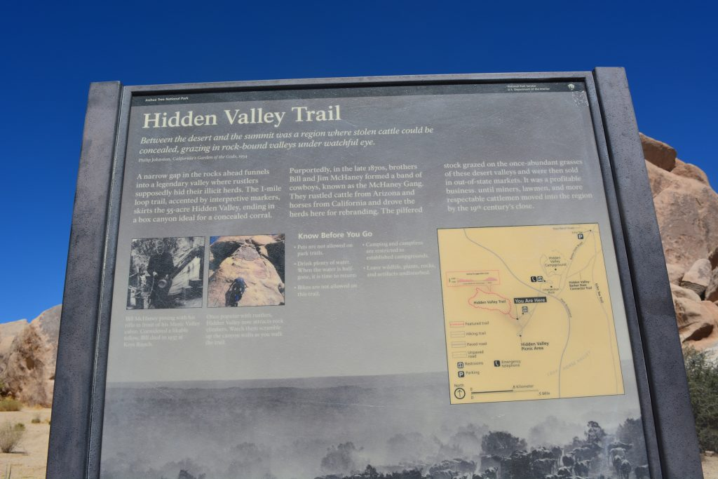 Trail Description - Hidden Valley