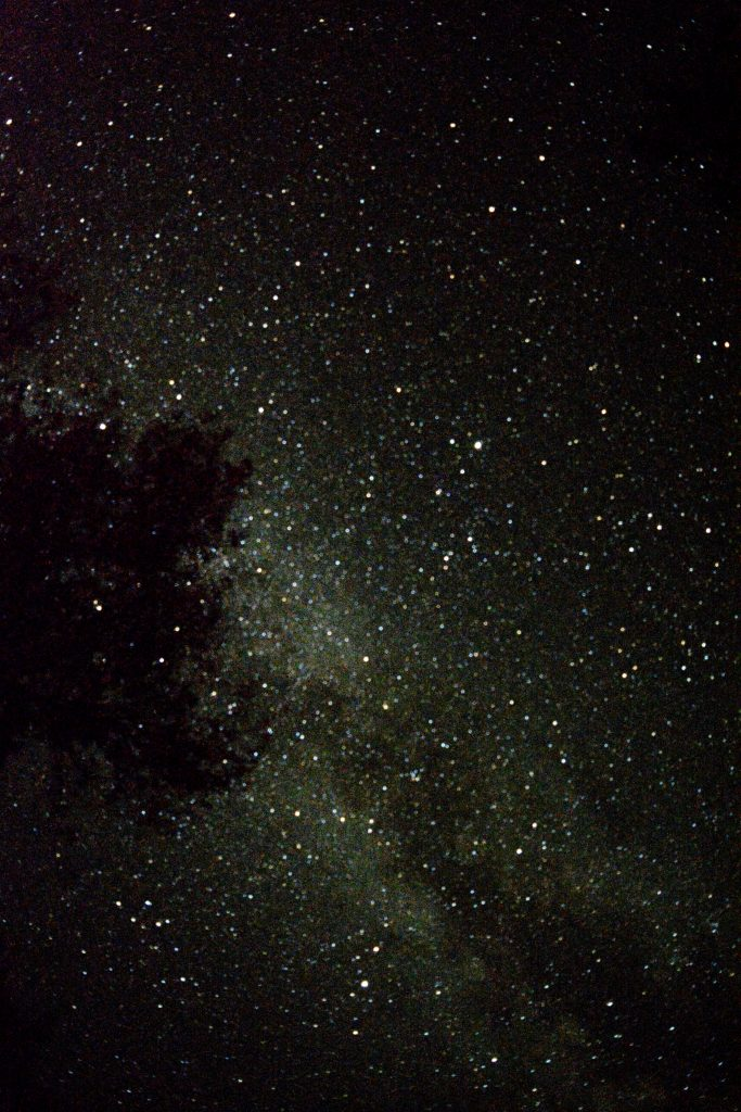 Stargazing at the bottomof the Grand Canyon :-)