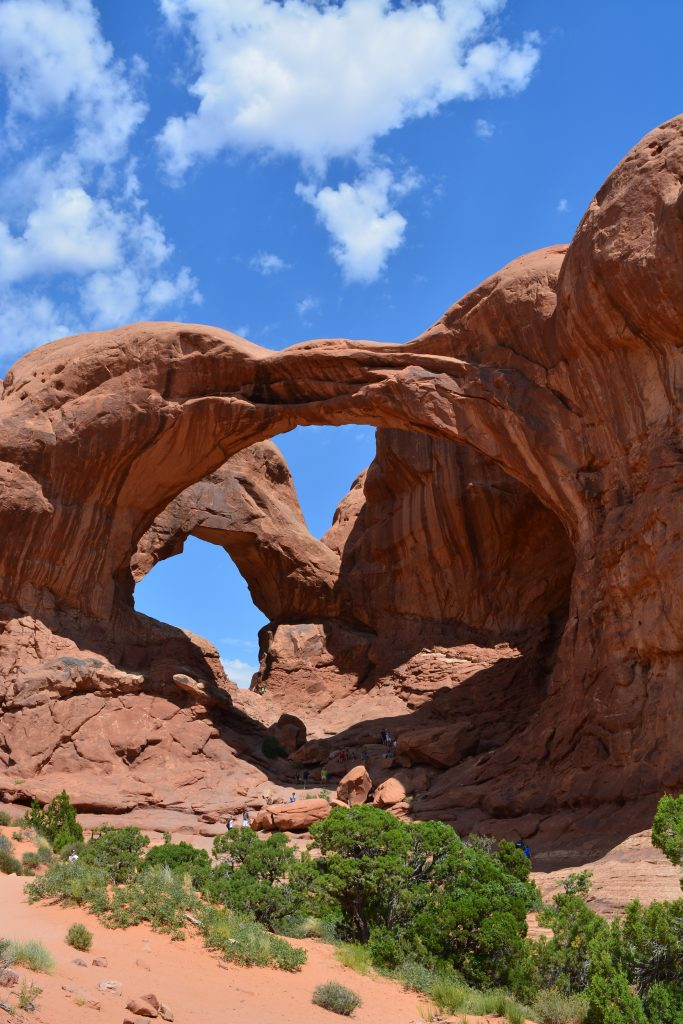 Double Arch in Arches Nationalpark