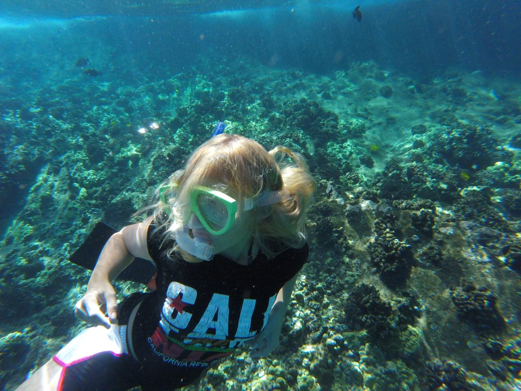 Snorkeling at the Molokini Crater